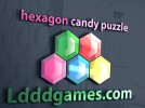 Hexagon Candy Crush Game